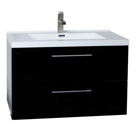 Wall Mount Bathroom Vanities Wall Mount Bathroom Vanity Black High Gloss Tn Ta860 Hgb Conceptbaths