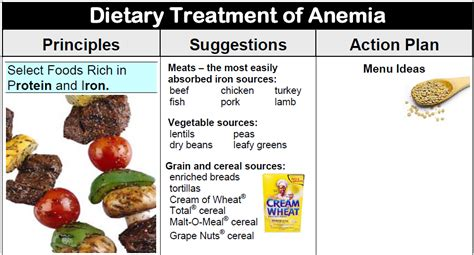anemic treatment medi diets products diet consult pro