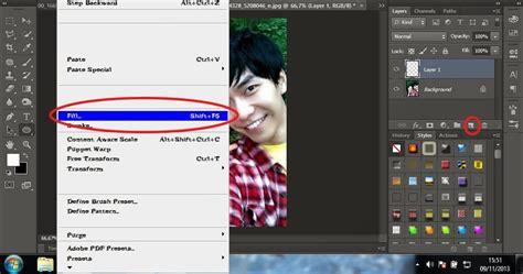 cara edit foto di photoshop buat ktp rianti anugrah cara edit foto efek cermin mengkilap