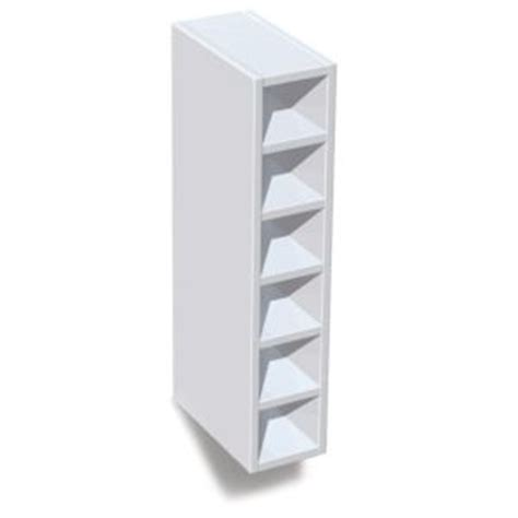 it kitchens gloss white slab wine rack cabinet w 150mm