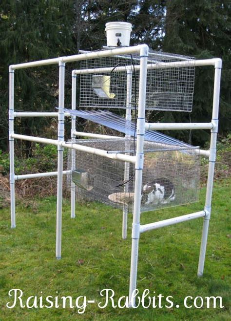 Pvc Rabbit Hutch free building plans outdoor rabbit hutch website of