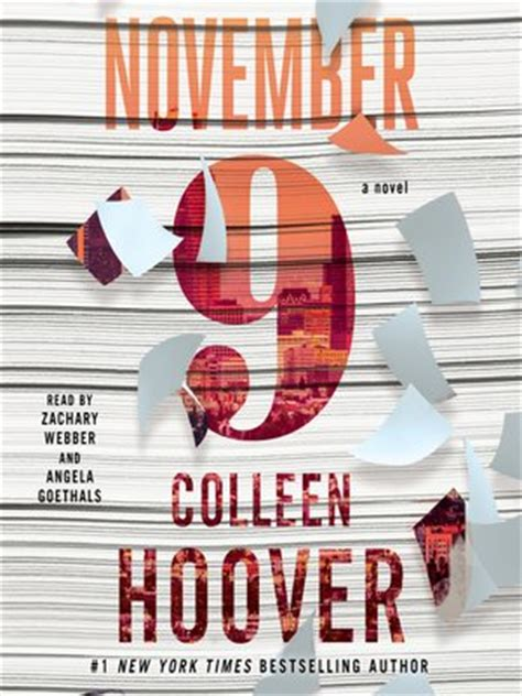 9 November November 9 november 9 by colleen hoover 183 overdrive ebooks
