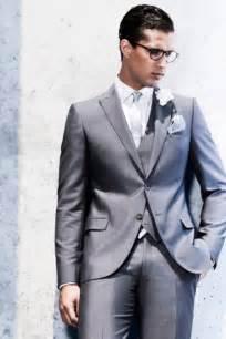 Men wedding suits grey for guests