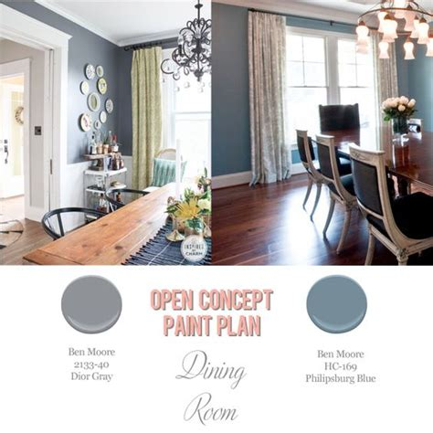 open concept window treatments and colors on