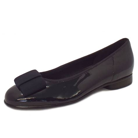 navy shoe gabor shoes assist ballet shoe in navy