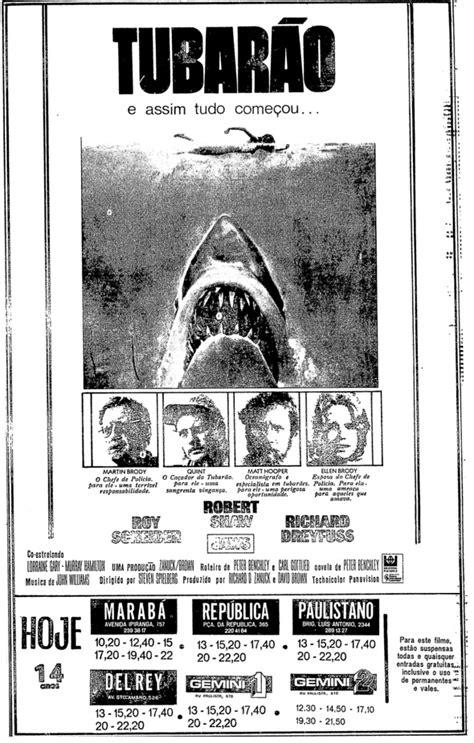 ANÚNCIO: Tubarão (1975)   Toca o Terror