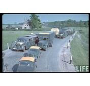 World War II In Color Wehrmacht Traffic Jam The West 1940