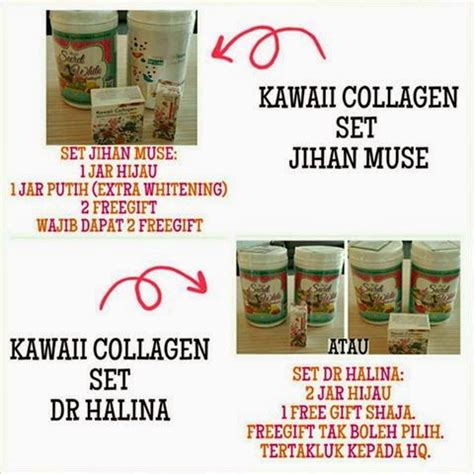 Kawaii Collagen Set Jihan my shop february 2015