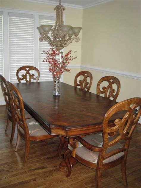 thomasville dining room set vintage thomasville french court dining table chairs