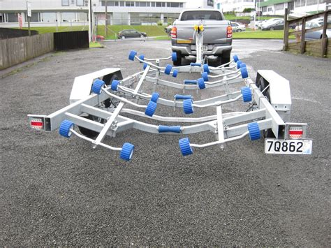 boat trailer axle length boat trailer tandem axle with cable brakes ax940t triple axle