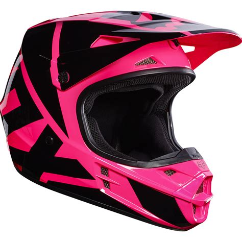 womens motocross helmet fox racing 2017 mx new ladies v1 race pink womens dirt