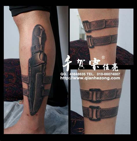 tactical knife by ren hong ji tattoonow