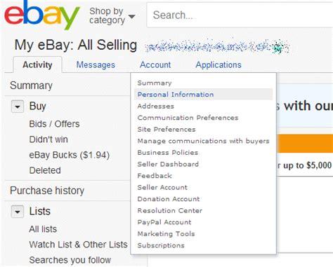 ebay new account how to change your ebay password pcworld