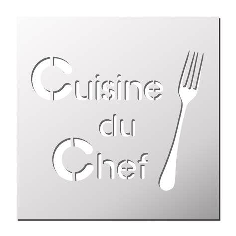 cuisine du chef pochoir cuisine du chef frenchimmo