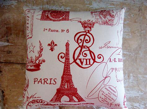 paris decor french country pillow paris decor eiffel tower cottage