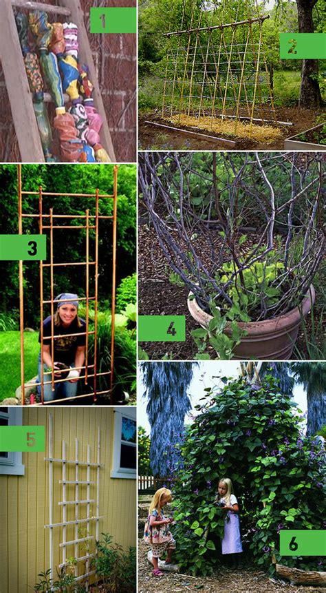 Creative Trellis Ideas roundup 6 diy garden trellis ideas 187 curbly diy design