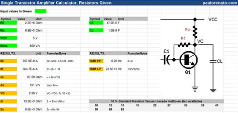 transistor a940 reemplazo given resistor values 28 images graphical resistor values coder freeware downloads resistor