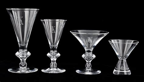 A Lot Of Steuben Quot Teardrop Quot Glassware 05 20 10 Sold 690
