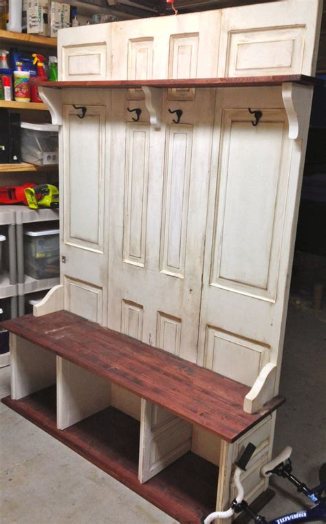 How To Build Entryway Bench And Coat Rack