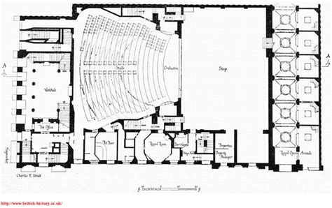 theatre floor plan her majesty s theatre haymarket ground floor plan