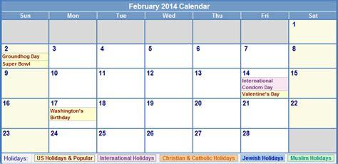 Calendar February 2014 Calendar February 2014 Printable Www Pixshark