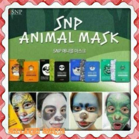 Op2439 Snp Animal Mask Masker Wajah Perawatan Wa Kode Bimb2916 Temukan Dan Dapatkan Snp Animal Mask Original Hanya Rp 8