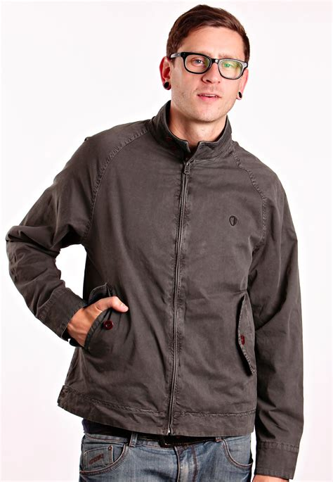 ben sherman l s bomber harrington jacket streetwear shop impericon worldwide