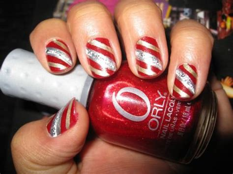 Nägel Weihnachten by 15 Green Gold Nail Designs Ideas
