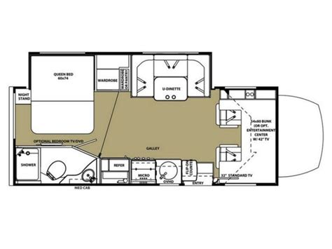 forest river rv floor plans 2016 forest river forester mbs 2401w photos details