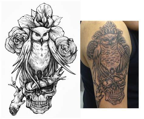 family values tattoo evil owl tattoo flash family values owl and skull tattoo
