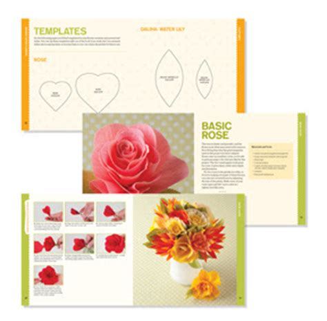 Flower Papercraft - paper flowers kit review papercraft paradise