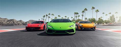Drive Up To 15 Exotic Cars