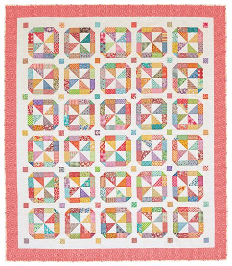 round round round round rounding and star quilts merry go round quilting pattern from the editors of