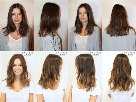 before and after hair color pictures before and after a color transformation in nyc ramirez
