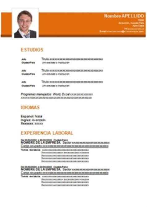 formatos para hojas de vida 50 formatos de hoja de vida en word para descargar gratis