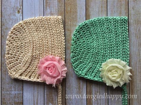 Bonnet Baby 1 fiber flux beautiful baby bonnets 15 free crochet patterns