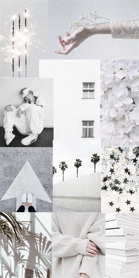 light grey aesthetic wallpaper kertas dinding gambar