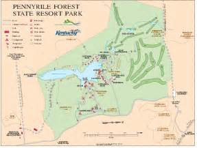 Kentucky State Parks Map by Pennyrile State Resort Park Map Dawson Springs Ky 42408