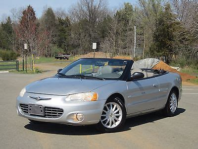 2001 Chrysler Sebring Engine For Sale by 2001 Chrysler Sebring Lxi Cars For Sale