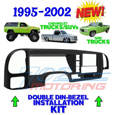 install l post chevy silverado dash kit autos post