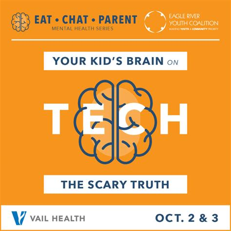 Eat Chat eat chat parent your kid s brain on tech vvp events