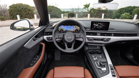 audi convertible interior audi a5 cabriolet 2 0 tdi 2017 review by car magazine