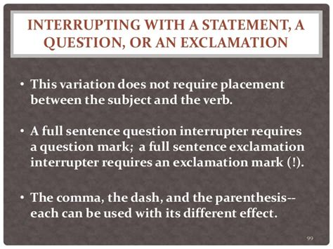 sentence pattern variations twenty sentence patterns a brief description of patterns