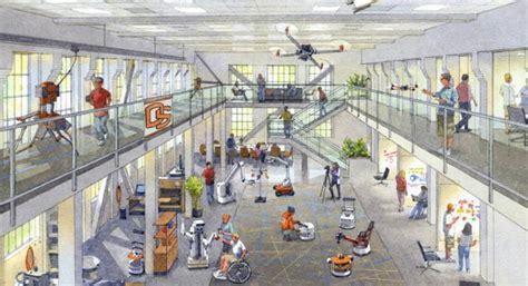 Modern Home Floor Plans graf hall gets ready for robotics hub mechanical