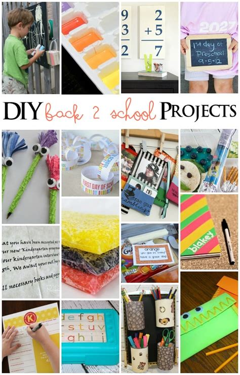college diy projects diy back to school projects mmm 238 block