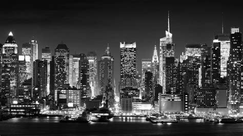 new york city skyline black and white wallpaper new york city black and white wallpaper high quality