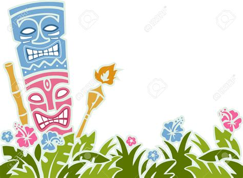 background clipart background clipart hawaiian pencil and in color