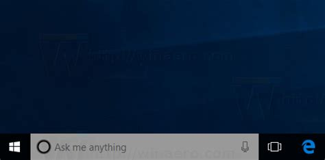 cortana search box is limited in windows 10 to microsoft change cortana search box text transparency in windows 10