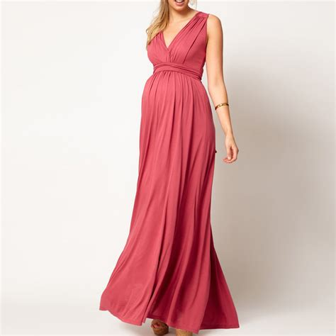 Plus Size Maternity Baby Shower Dress by Coral Dresses A Line Dresses Chiffon