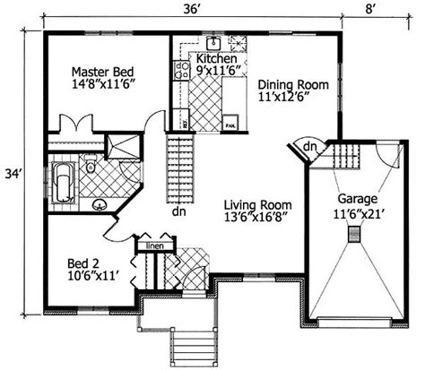 free home design software metric plan 90204pd barrier free bungalow free floor plans